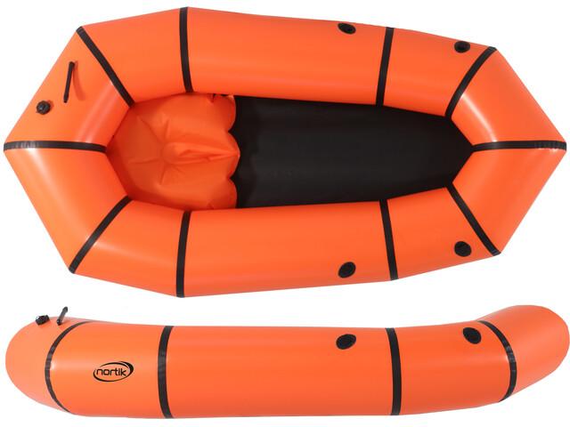 nortik Light-Raft orange/black